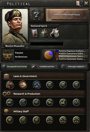 Italy - Hearts of Iron 4 Wiki