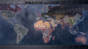Map Hearts Of Iron 4 Wiki